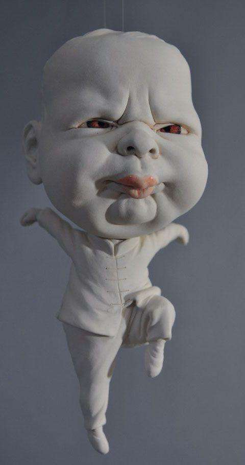 Incredible ceramic sculptures by Hong Kong based artist Johnson Tsang.