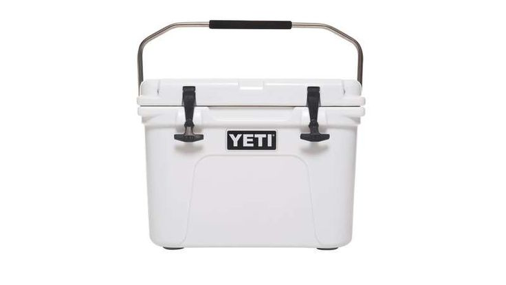 Bear Resistant! Yeti Cooler extra insulated, super tough on the outside, and the lid has freezer-quality gasket that seals out warm air and prevents leaks. You can even use dry ice in this baby. Plus, tie-down slots mean you can secure it to your truck or boat, and it's bear-resistant when padlocked shut.
