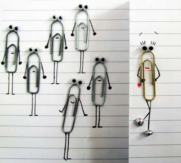Creative Paperclip Craft (12 Pics)