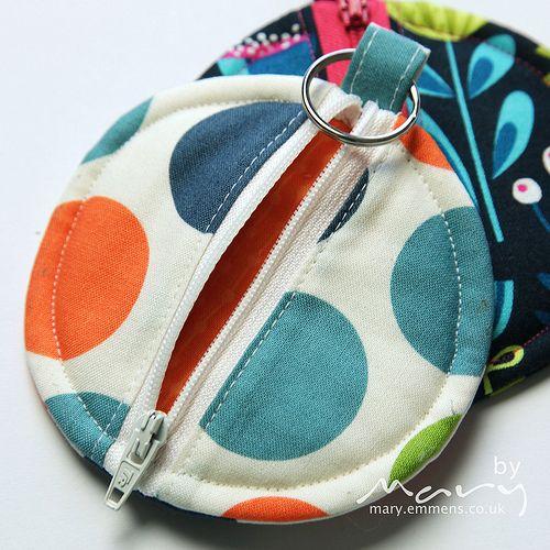 Pattern for ear bud pouch