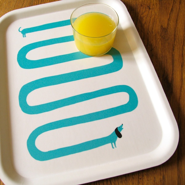 Highly needed dachshund dog tray by Lucie Sheridan