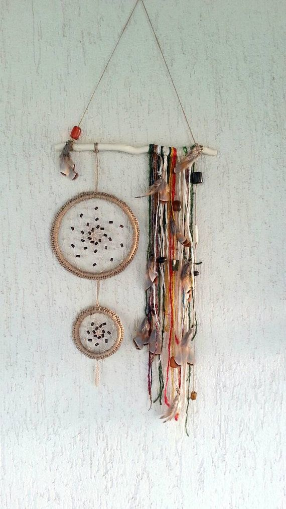 Check out this item in my Etsy shop https://www.etsy.com/listing/225712050/mobile-dreamcatcher-bohemian-boho-decor