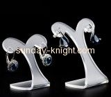 China acrylic items manufacturers hot selling acrylic earring display holder jewelry tree stand JDK-062