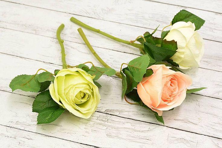Trandafiri mari – ideali pentru aranjamente florale,buchete, decor nunti si alte evenimete speciale. Trandafirii sunt perfecti pentru amenajarea unui spatiu in gradina sau casa dumneavoastra. Pretul afisat este pentru un trandafir. Trandafirii sunt disponibili in cele 3 nuante. Dimensiuni: inaltimea 28 cm si diametrul 9 cm. Similare