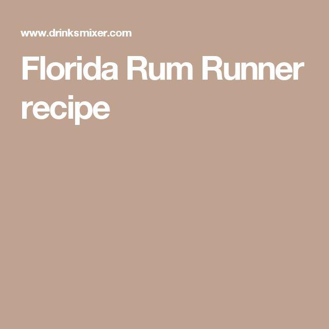 Florida Rum Runner recipe