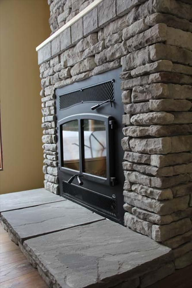 Builddirect Black Bear Manufactured Stone Ledge Home Pinterest Fireplace Design Cottage And House