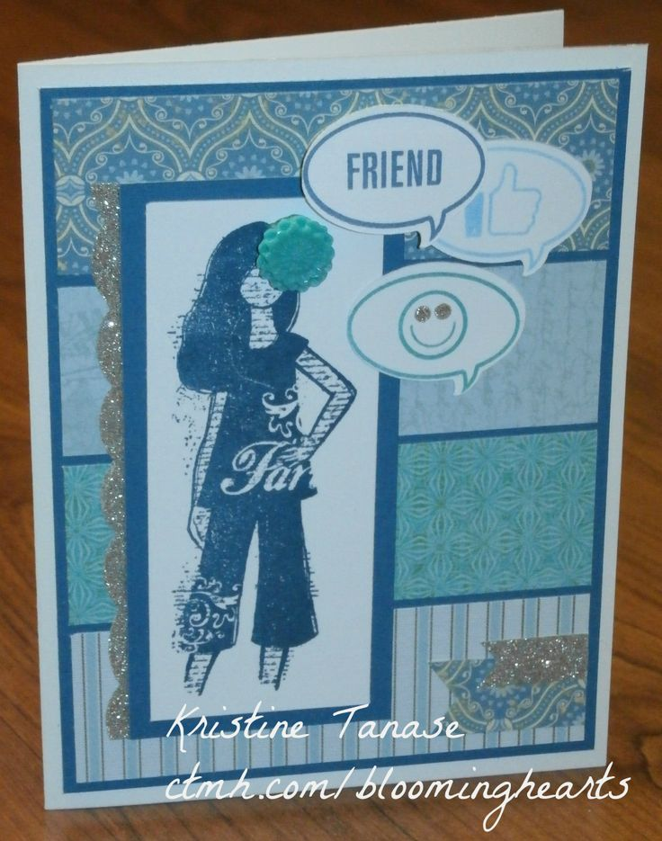 CTMH card - using paper from Skylark, Ariana, Balloon Ride and Jubilee - and LOL and Dreamer stamp sets - by Kristine Tanase
