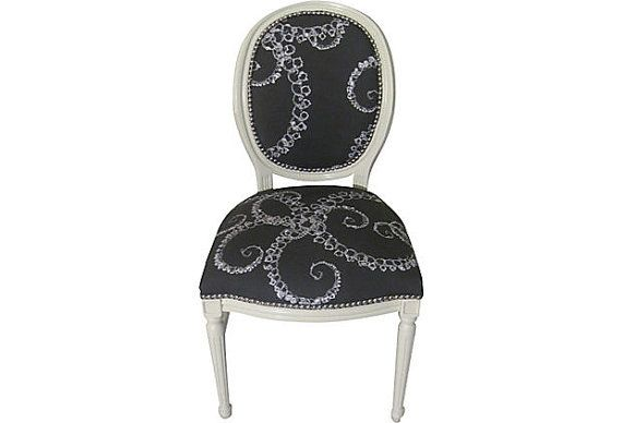 Skeleton Ocotopus French Side Chair by OrangeNolive on Etsy, $675.00