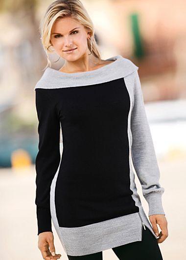 Color block sweater. Such a necessity for the closet! Great with jeans, tights or a cute skirt and boots!