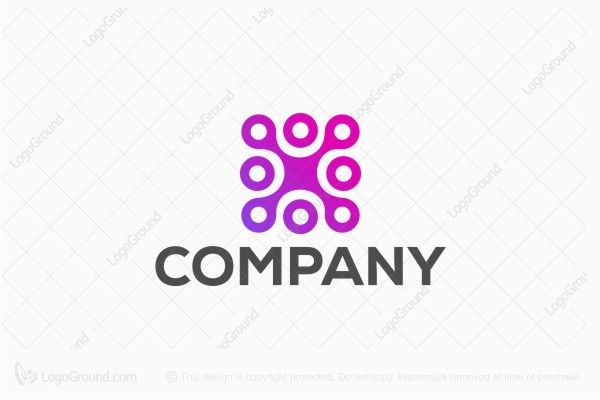Logo for sale: Letter X Abstract Technology Logo