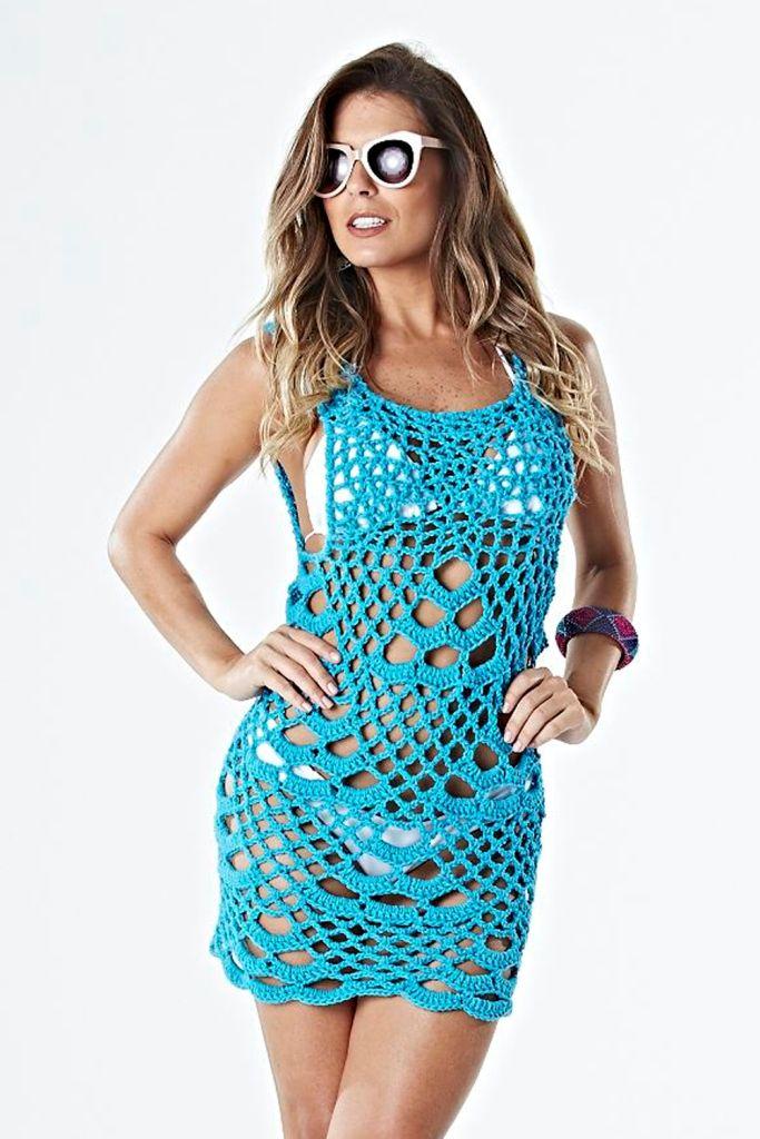 Motivos en crochet con tramados increíbles dan ese toque tan especial a tu tejido