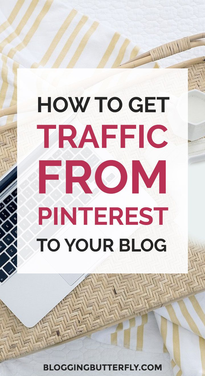 Pinterest for Bloggers: How to use Pinterest to grow your blog or blog-based business. Get a free workbook with the 5 things you need to get more traffic to your blog with Pinterest. Read this and more blogging success tips for beginners: https://bloggingbutterfly.com/pinterest-for-bloggers-traffic/?utm_source=pinterest&utm_campaign=pinterest_for_bloggers_traffic&utm_medium=blog_link&utm_content=image7