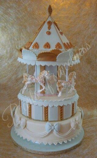 Carousel cake...inspired by Paul Bradford