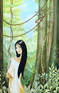 Ronna Lara-Bes Online Portfolio: Philippine Mythology Series. Maria Makiling is the most famous Diwata in Filipino mythology. The guardian spirit of Mount Makiling, responsible for protecting its bounty and thus, is also a benefactor for the townspeople who depend on the mountain's resources.