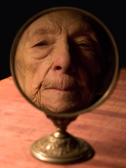 The Crone In The Mirror, Louise Bourgeois by Alex Van Gelder.