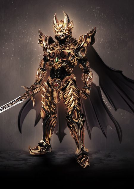 Discovered this series not long ago. Epic. GARO ...