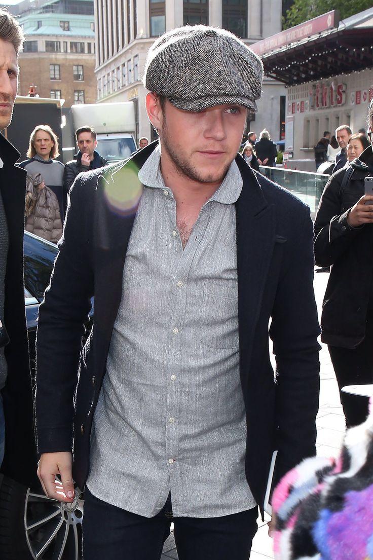 April 26th: Niall arriving at Capital Radio studios in London