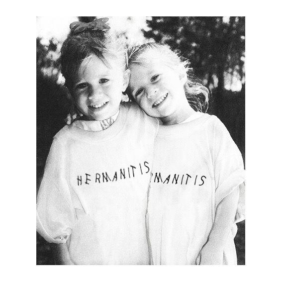 #hermanitis #camiseta #blanca