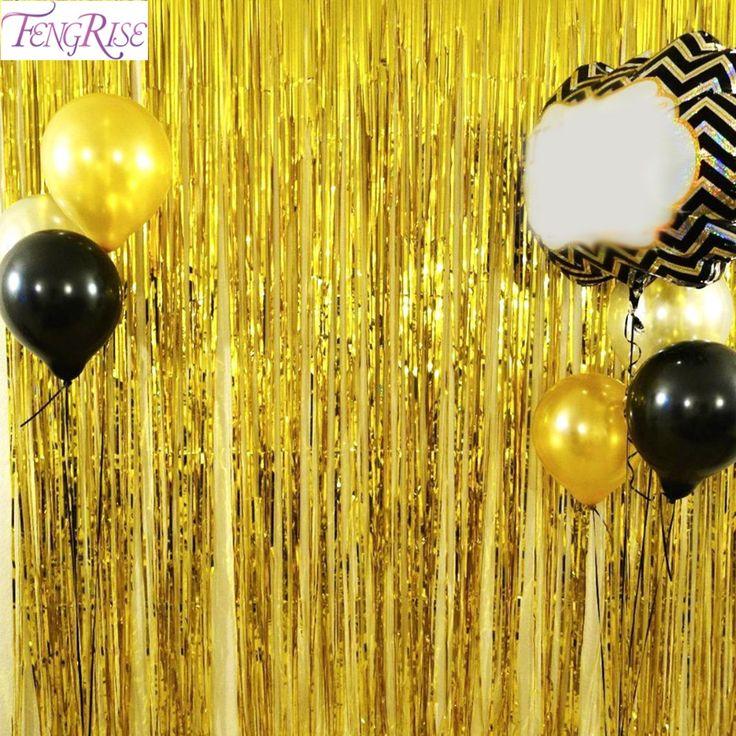Large gold curtain for photon foil Dimensions 1x2 meters, different colors   Большой золотой занавес для фотозоны из фольги  Размеры 1х2 метра, разные цвета