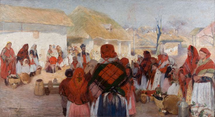 Włodzimierz Tetmajer, Święcone na wsi, 1897