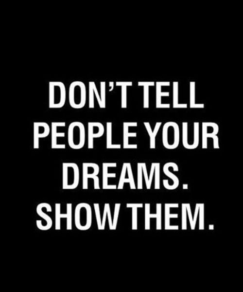Your Dreams – Popular Inspirational Quote