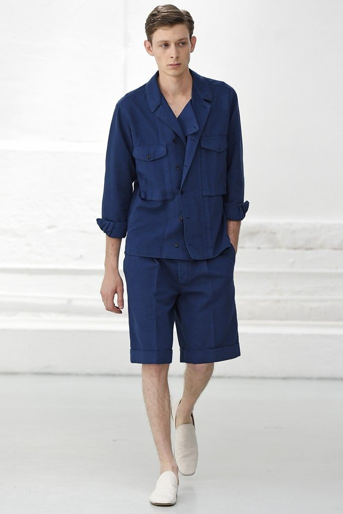 Christophe Lemaire Men's RTW Spring 2015 - Slideshow