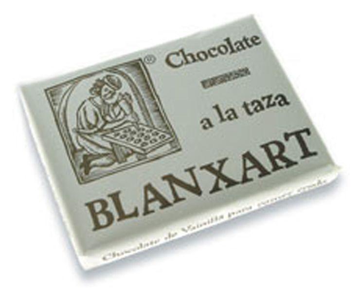 Blanxart 200g. Ciocolata calda, pura, cu vanilie. 46% cacao.