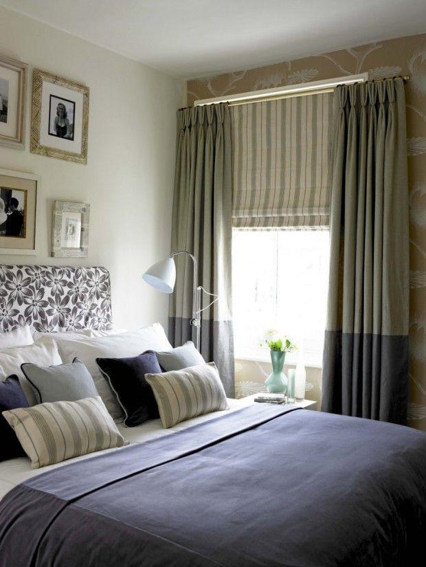 Master Bedroom Window Decorative Curtains