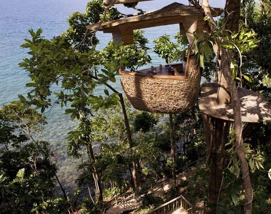 Six Senses hotel Soneva Kiri Thailand