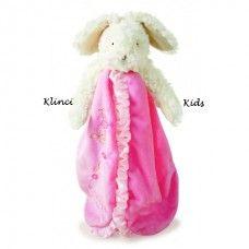Bunnies by the Bay Blooming Bloosom Baby Blanket Blanky Comforter. #bunniesbythebay