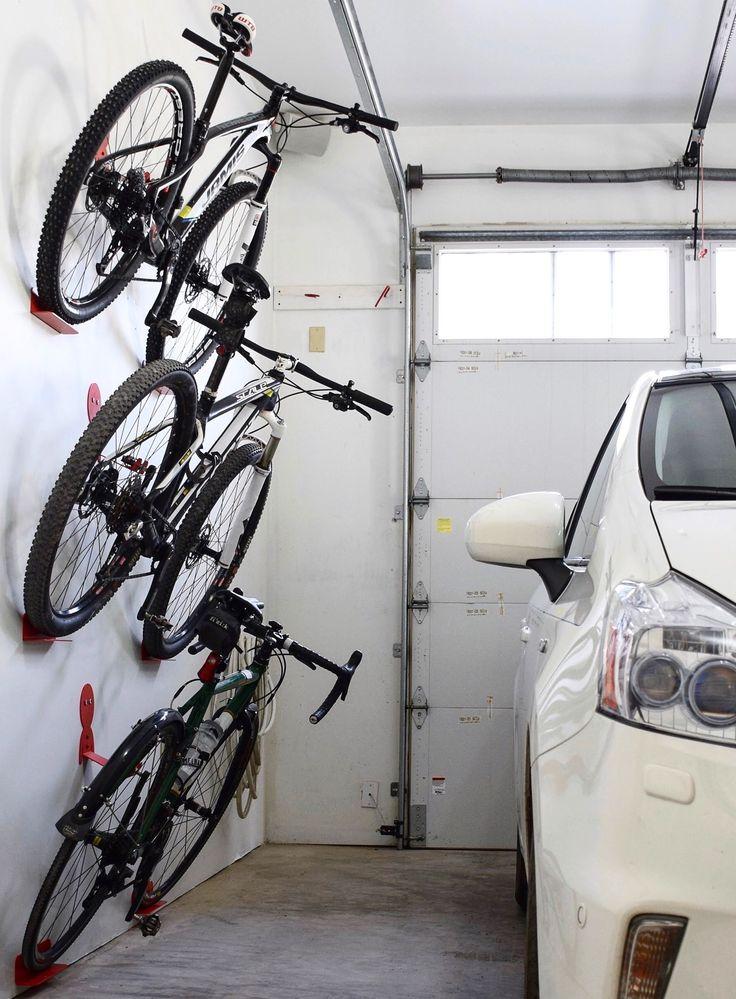 Bike wall hanger. DaHANGER Dan bike hook, reclaim your ...