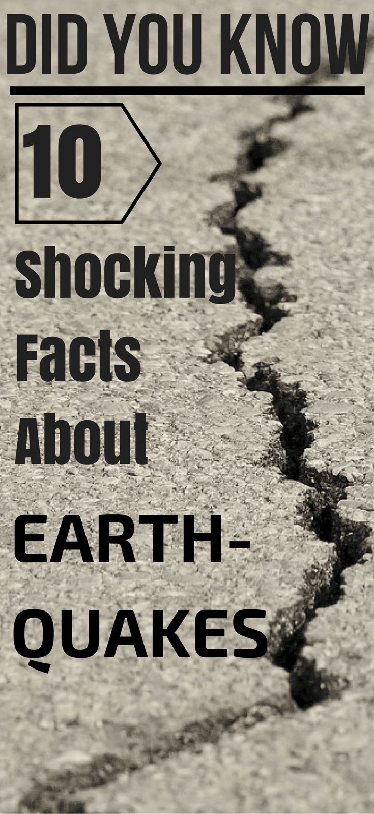 Did You Know These 10 Shocking Facts About Earthquakes? #fact