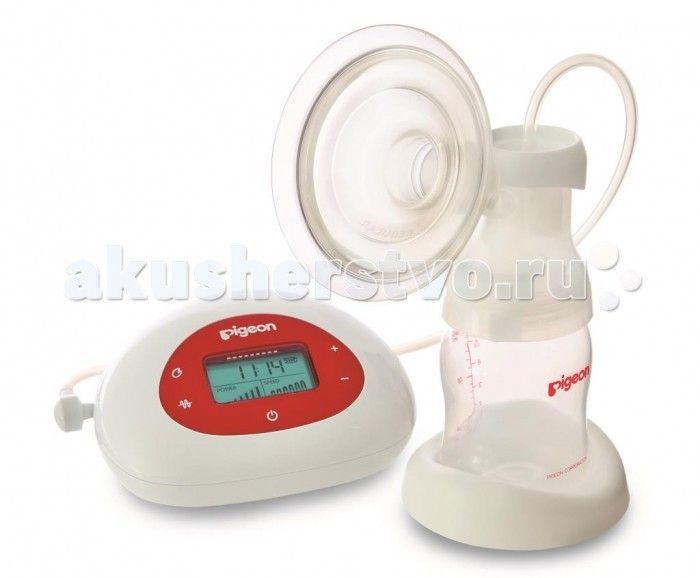 Pigeon Молокоотсос электронный Pro  Молокоотсос Pigeon электронный предназначен для эффективного и комфортного сцеживания, максимально приближенного к кормлению ребенка грудью. Модель с электронным дисплеем, является профессиональным молокоотсосом.  Двухфазная технология для естественного и эффективного сцеживания. Настраиваемые режимы: 2 режима стимуляции + 28 режимов сцеживания (7 уровней интенсивности и 4 режима скорости), позволяющие настроить индивидуальную программу и обеспечить…