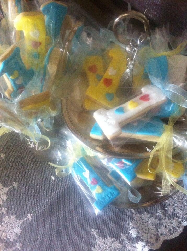 Ömerin doğum günü kurabiyeleri