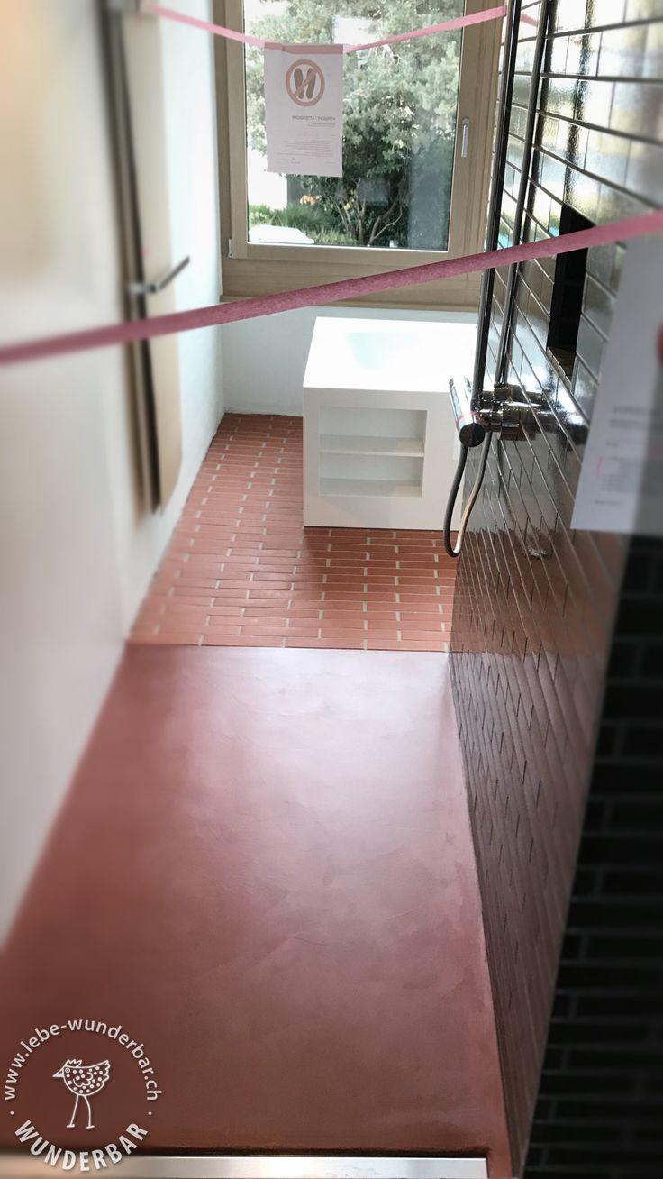 Making Of: HomeSpa Ohne Plättli → Die Robuste Versiegelung Muss Gut  Trocknen, Lässt