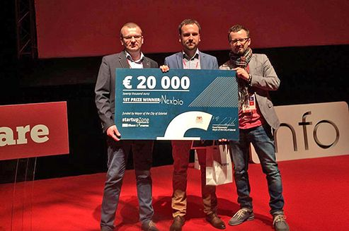 Nexbio, a company which has developed as a part of Innova-Invest project at Lublin Science and Technology Park, won the infoShare 2016 Startup Contest. #infoshare #nexbio #gdansk