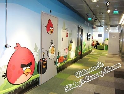 A Visit To Rovio, Angry Birds HQ In Helsinki #angrybirds #finnair #travel #finland #helsinki #tourism #cute #kidstravel #flights #airline #rovio