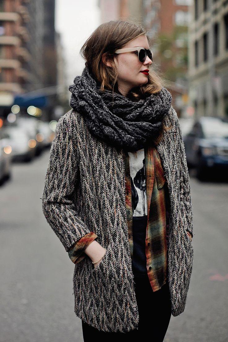 fall winter otoño invienro 2014 2015 moda #fashion #street #style