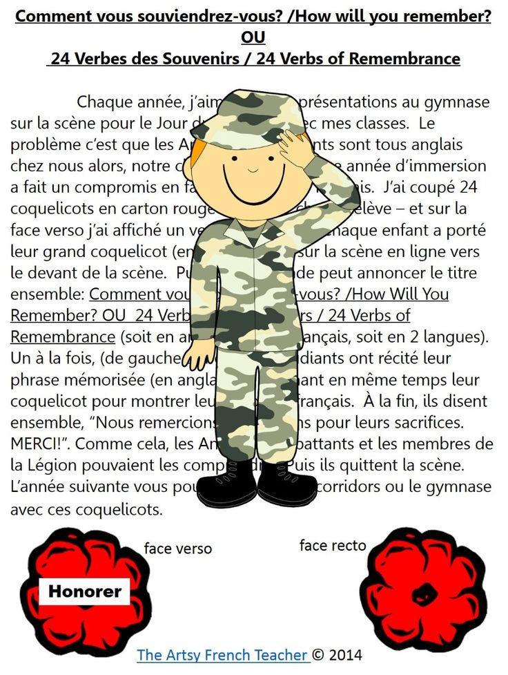 Souvent 234 best Jour du souvenir images on Pinterest | Remembrance day  OU53
