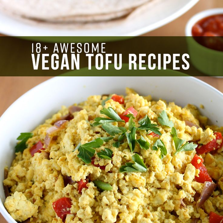 If your tired of Tofu you will fall back in love with it with these 18 amazing vegan tofu recipes...