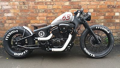 Honda  600 bobber Yamaha 650 bobber custom Voodoo custom cycles book your build