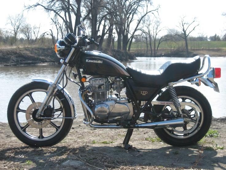 1982 kawasaki kz440 ltd bike stuff pinterest. Black Bedroom Furniture Sets. Home Design Ideas