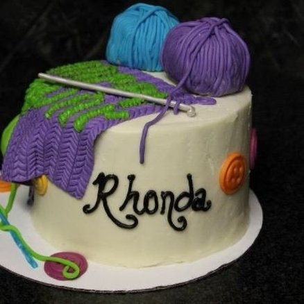 This is for Angela - cute idea!! Crochet Cake