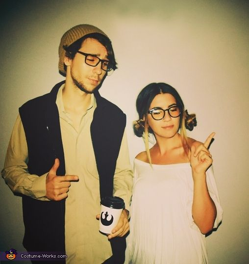 Brandi: Inspiration: This is my boyfriend & I! First off. We love Star Wars & are stoked for the upcoming movie. We weren't planning on dressing up this year but then...