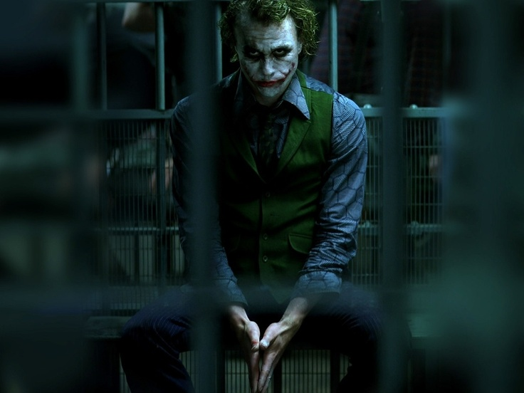 Joker, Heath Ledger in The Dark Knight