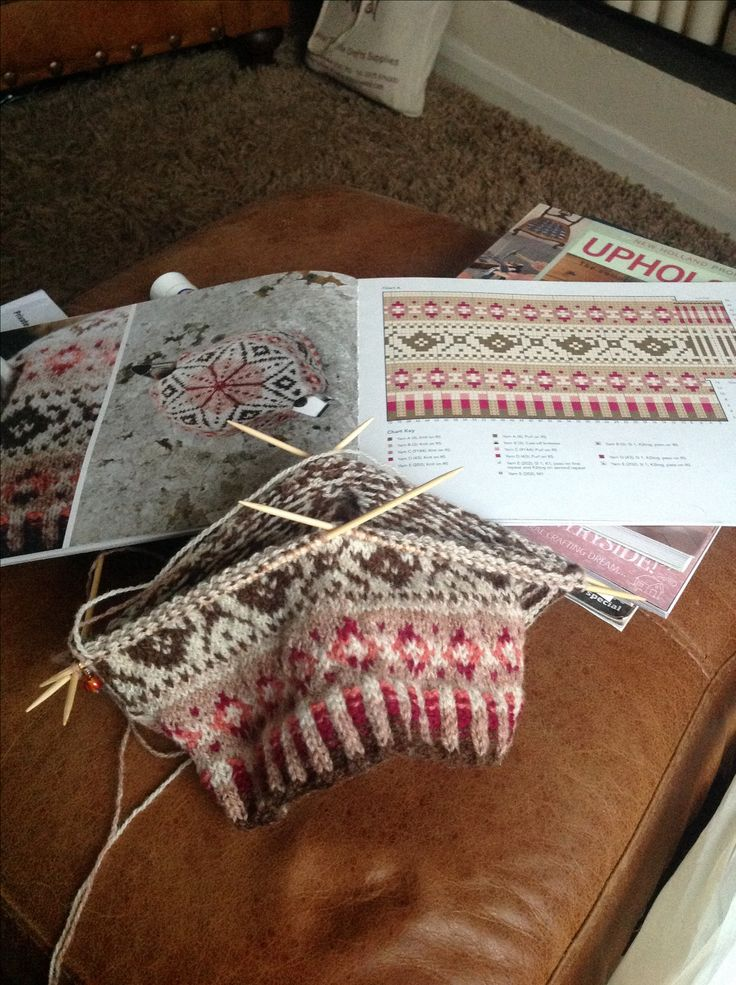 Fairisle. I'm getting in the mood. Haven't done fair isle in a while