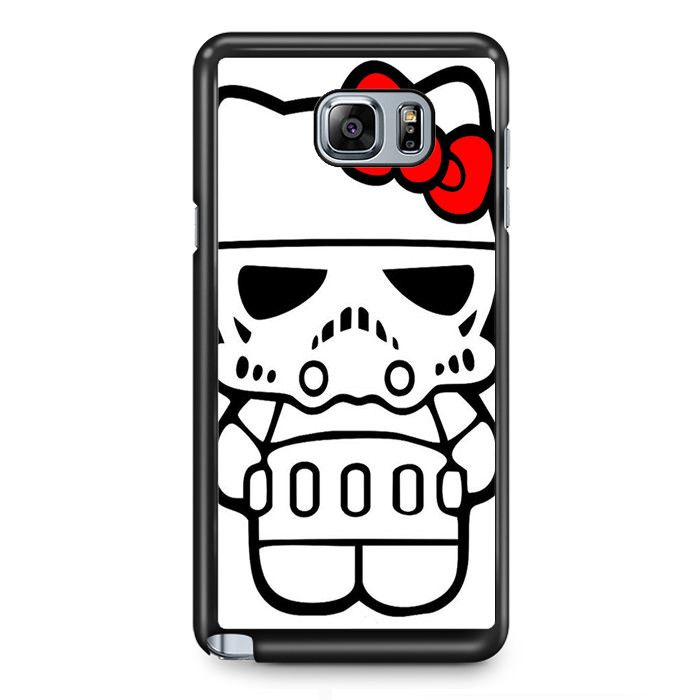 Starship Trooper Hello KittyPhonecase Cover Case For Samsung Galaxy Note 2 Samsung Galaxy Note 3 Samsung Galaxy Note 4 Samsung Galaxy Note 5 Samsung Galaxy Note Edge