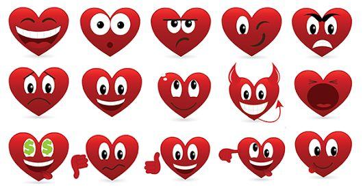 Heart Emoticons