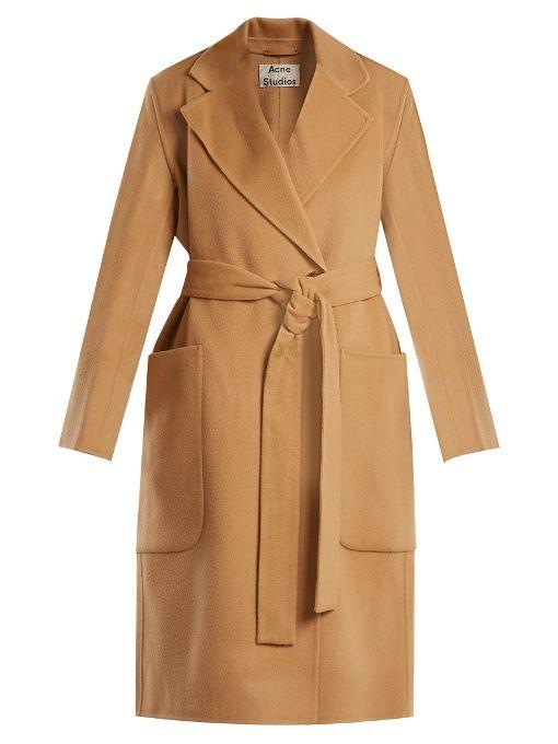 Carice double-breasted wool-blend coat  9863b4f3fa10