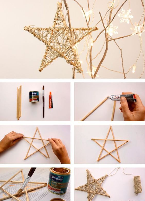 Aprende a realizar tus propios adornos con estas originales ideas. #Navidad #IdeasOriginales #Decoración #DecoraciónDeNavidad #ArbolitoDeNavidad